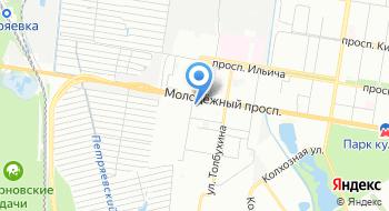 Государственное автономное образовательное учреждение Нижегородской области Учебно-курсовой комбинат Нижегородстрой на карте