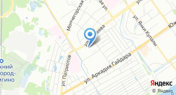 Ярмарка на Минеева на карте