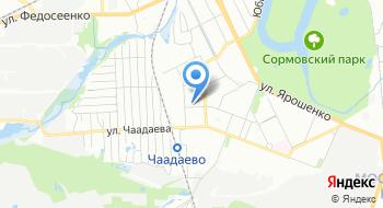Краснобаковский автопарк на карте