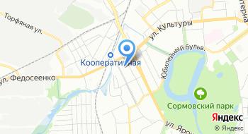 Следственный отдел по Сормовскому району Следственного управления Следственного комитета Российской Федерации по Нижегородской области на карте
