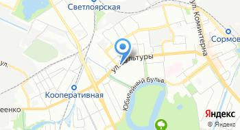 Управление по Делам Гражданской Обороны Чрезвычайным Ситуациям и Пожарной Безопасности Нижегородской области на карте