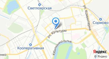 Специальная коррекционная общеобразовательная школа-интернат Viii вида № 71 на карте