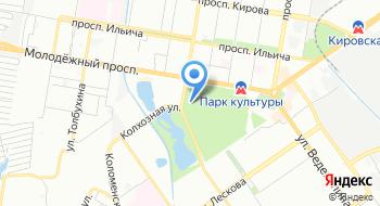 Пейнтбольный клуб Контора на карте