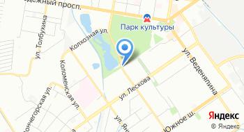 У озера на карте