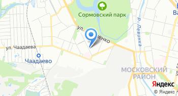 Детский клуб имени Ульянова на карте