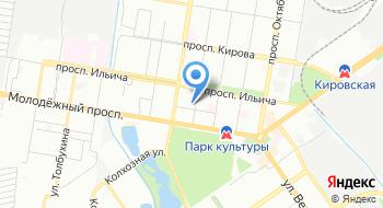 МБУ ДО Детская школа искусств №1 на карте
