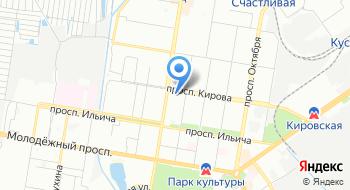 Лицей №36 на карте
