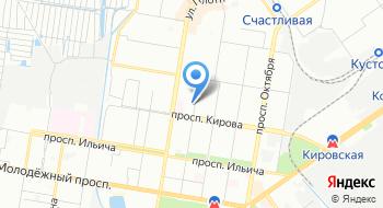Отдел военного комиссариата Нижегородской области по Автозаводскому району города Нижнего Новгорода на карте