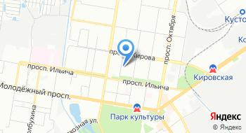 Муниципальное казённое общеобразовательное учреждение Школа-интернат №10 на карте