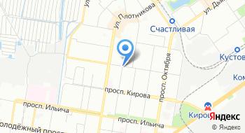 МБУ ДО ДЮСШ №1 по спортивной гимнастике на карте
