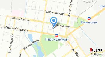 Городская больница №37 на карте