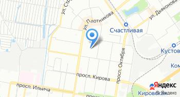 Фиджин на карте