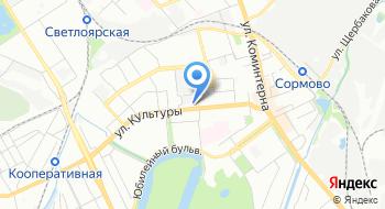 Частный детектив Нижнего Новгорода на карте