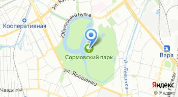 Конный клуб Остров на карте