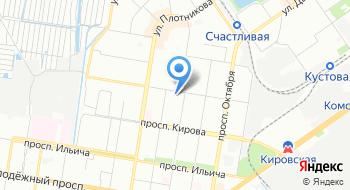 Заречный районный отдел занятости на карте