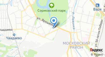 Дворец Спорта Юность на карте