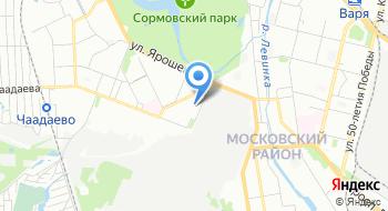 Управление ПФР в Московском районе г. Н. Новгорода на карте