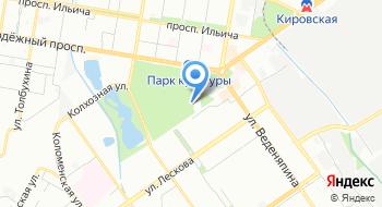 Автозаводский парк культуры и отдыха на карте