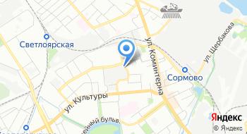Сормовская кондитерская фабрика на карте