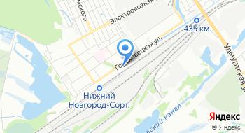 Военизированный горноспасательный пункт МЧС России город Нижний Новгород на карте