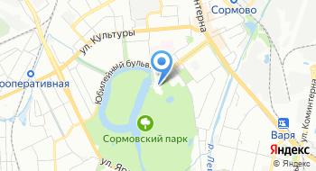 Сормович на карте