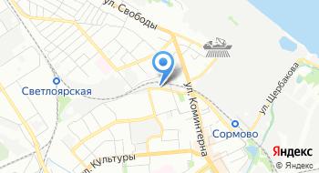Автокондей НН на карте