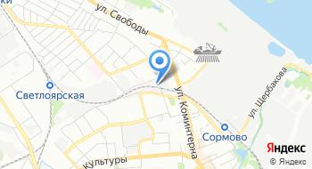 Автосервис Сормович на карте