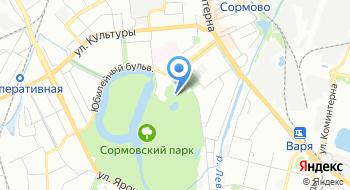 Сормовский парк Картинг на карте