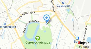 Управление Федеральной миграционной службы России по Нижегородской области на карте