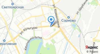 Батэль на карте