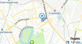 Нижегородский областной центр переливания крови имени Н.Я. Климовой Сормовский филиал на карте
