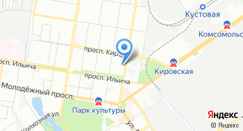 Центральный банк Российской Федерации,  расчетно-кассовый центр на карте