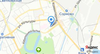 Сцена-НН на карте