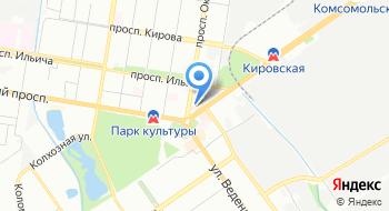 Автозаводский универмаг на карте