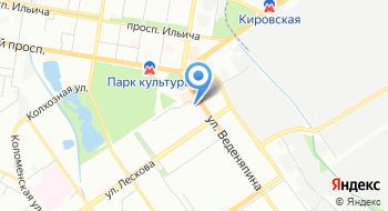 Агентство регистрации на карте
