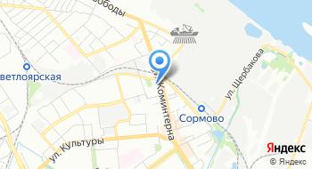 Общественная приемная депутата Городской Думы Нижнего Новгорода Кузина Д.В. на карте