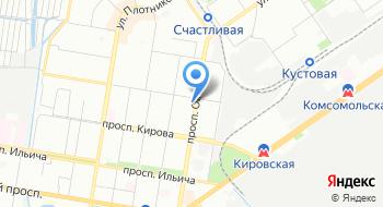 Отосфера на карте