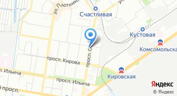 Садовая лавка на карте