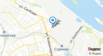 Заречный полк полиции УВО по городу Нижнему Новгороду на карте