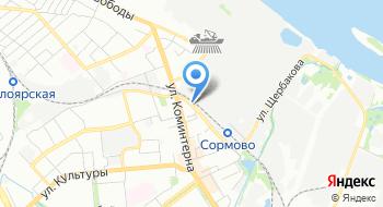 Автоволга на карте