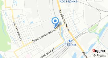 Загородный клуб Ермак, офис продаж на карте