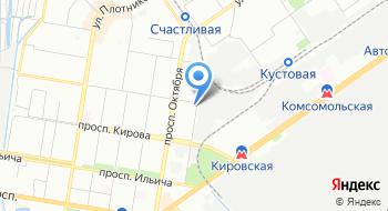 Интэс на карте