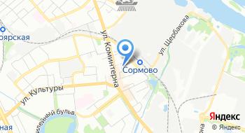 Фитнес-клуб Рельеф на карте