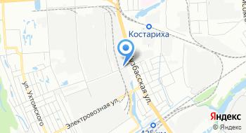 АКБ-Техцентр, офис на карте