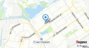 Дрова-нн на карте