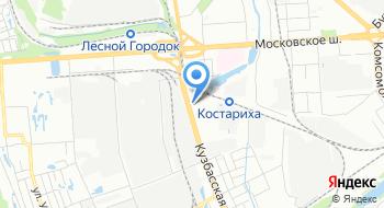 Плодоовощная база Кузбасская на карте
