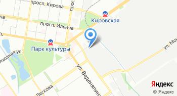 Ситекс на карте