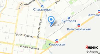 Шхара на карте