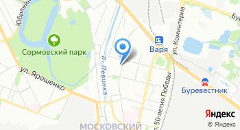 Ведущий Дмитрий Гордеевцев на карте