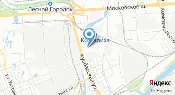 Тоин на карте